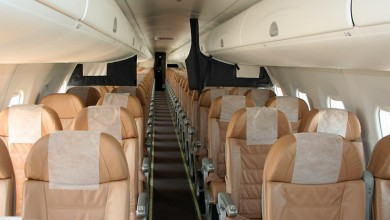 Airliner private plane First Class Aviation 2