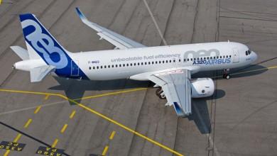 Airliner vliegtuig verhuur per Airbus 320