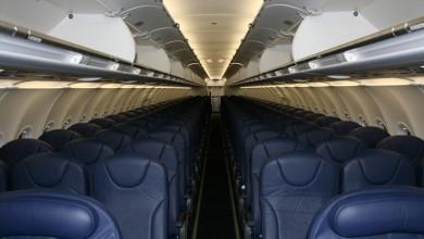 Cabine Airbus 320 vliegtuig verhuur