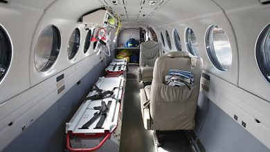 Ambulance aircraft 2