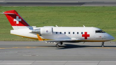 Ambulance aircraft 4