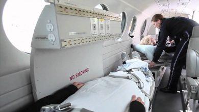 Ambulance aircraft 6