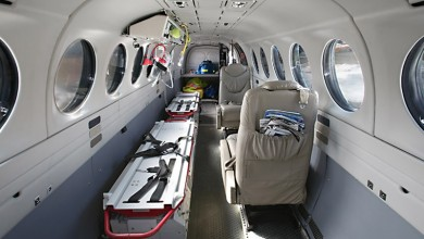 Ambulance flight and aircrafts at First Class Aviation 2