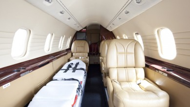 Ambulance flight and aircrafts at First Class Aviation 3