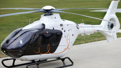 Helicopter charter at First Class Aviation