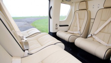 Helikopter interieur