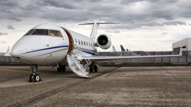 Large private jet charter 1