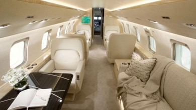 Large private jet charter 2