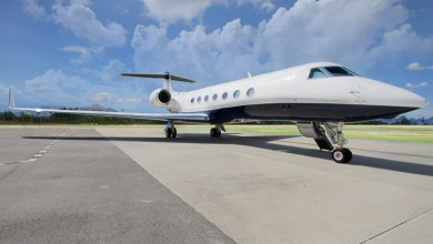 Large private jet charter 5