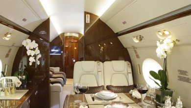 Large private jet charter 6