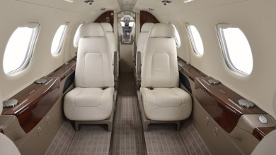 Midsize jet private plane First Class Aviation 2