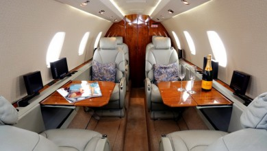 Midsize jet private plane First Class Aviation 4