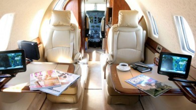 Midsize jet private plane First Class Aviation 6