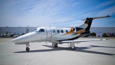 Light jet for private flights