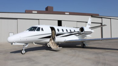 Midsize private jet fleet