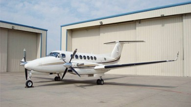 Turboprop private jet charter