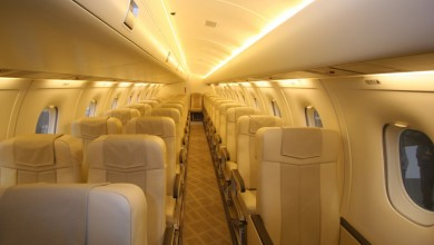Regional aircraft charter at First Class Aviation 2