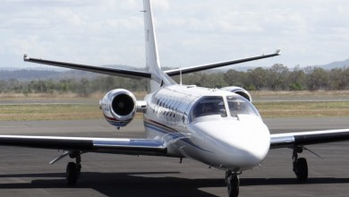 Small private jet for charter 5