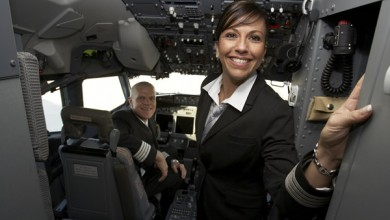 Stating your own welcome message on board of your aircraft