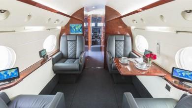 De Gulfstream IV private jet van Dan Bilzerian bekijken 1
