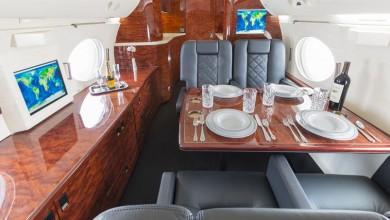 De Gulfstream IV private jet van Dan Bilzerian bekijken 2