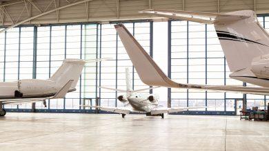De vloot prive jets en vliegtuigen die te huren zijn bij First Class Aviation