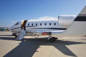 Challenger 604 privé jet wintersport