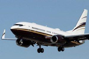 Kosten huren van een vliegtuig Boeing 737