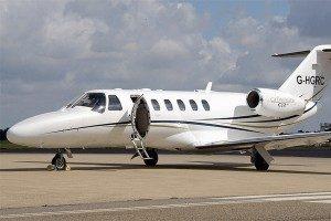 Kosten huren van een vliegtuig Citation CJ2