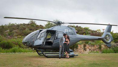 Ideeën voor een uniek huwelijksaanzoek met een helikopter