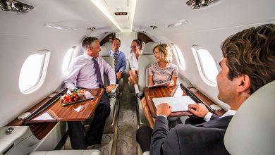 Hoe kan ik mijn tijd benutten in het vliegtuig bijvoorbeeld met vergaderen