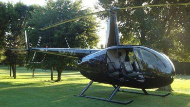 Waar kan een helikopter landen van First Class Aviation